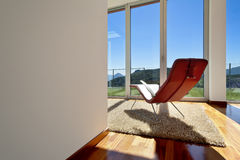 Room view with a chair Royalty Free Stock Photography