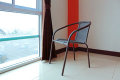 Room view with chair Stock Photos