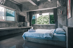 Room of a villa 2 Stock Images