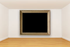 Room with vintage   frame Stock Image