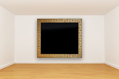 Room with vintage picture frame Royalty Free Stock Photos