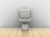 Room with water closet Stock Photography