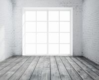 Room with window Stock Photography