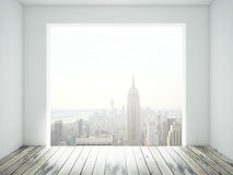 Room with window Royalty Free Stock Photo