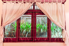 Room windows outside Bali Royalty Free Stock Photography