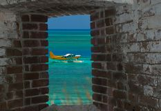 Free Room With A View From Inside Fort Jefferson Stock Image - 159478291