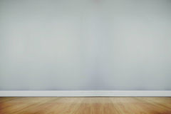 Room with wooden floor Royalty Free Stock Photos