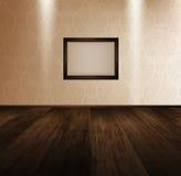 Room With Wooden Floor Stock Photos