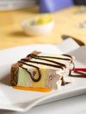 Roomijs Cake Stock Afbeelding