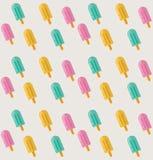 Roomijs naadloos patroon vector illustratie