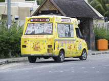Roomijsauto in Mauritius Stock Foto's