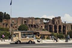 Roomijsbestelwagen, Rome, Italië royalty-vrije stock fotografie