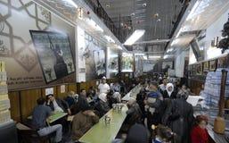 Roomijsverkopers in Aleppo Royalty-vrije Stock Fotografie