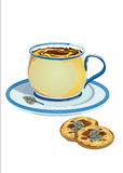 Roomkoekjes met salie Royalty-vrije Stock Foto's