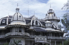 Roomor mansion in Port of Spain, Trinidad Royalty Free Stock Images