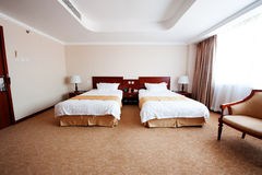 Rooms. Beijing hotel rooms Royalty Free Stock Photography