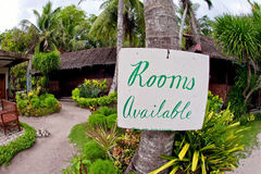 Rooms available Royalty Free Stock Images