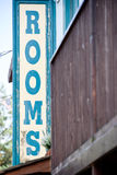 Rooms available sign Royalty Free Stock Image