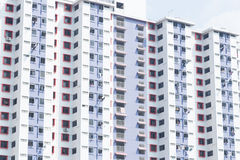 Rooms condo building. Rooms in the condo building. The rooms are available as well Royalty Free Stock Photo