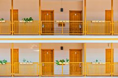 Rooms at the exit Stock Photography