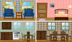 Rooms Royalty Free Stock Photos