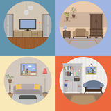 Rooms and Furniture Stock Photos