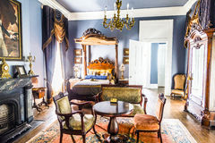 Rooms inside famous Nottoway Royalty Free Stock Image