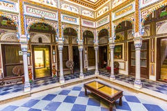 Rooms inside the Heritage Mandawa Royalty Free Stock Images