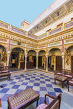 Rooms inside the Heritage Mandawa Royalty Free Stock Photography