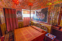 Rooms inside the Heritage Mandawa Stock Images