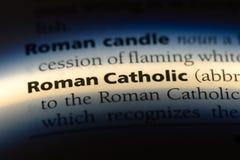 Rooms-katholiek stock foto