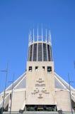 Rooms-katholieke Kathedraal, Liverpool Stock Foto's