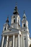 Rooms-katholieke kerk, Sivac, Servië Stock Fotografie
