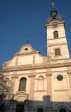 Rooms-katholieke kerk, Sombor, Servië Stock Afbeelding