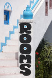 Rooms for rent advertising in Crete. Greece Stock Photo