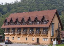Rooms for rent in Carpathian mountains Royalty Free Stock Images