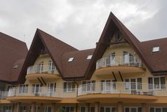 Rooms for rent in Carpathians Stock Photos