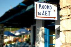 Rooms to let Stock Images