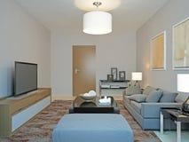 Roomy living room minimalism Stock Image
