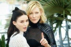 Rooney Mara, Cate Blanchett Stock Photography