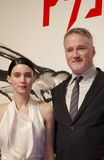 Rooney Mara and David Fincher Royalty Free Stock Photography