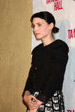Rooney Mara, Tanner Hall Stock Image