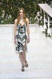 Roos Abels walks the runway at La Perla fashion show Stock Photo