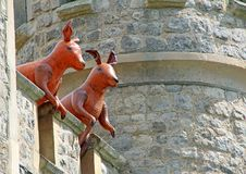 Free Roos Guarding The Tower Unseen Reality Royalty Free Stock Image - 115040156