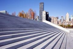 Roosevelt τέσσερα πάρκο ελευθεριών, πόλη της Νέας Υόρκης Στοκ Εικόνες