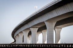 Roosevelt Bridge in Stuart, Florida fotografia stock libera da diritti