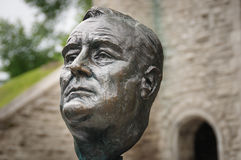 Roosevelt bronze sculpture Stock Photography