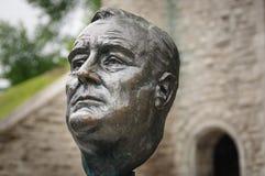Roosevelt bronze sculpture Stock Photography