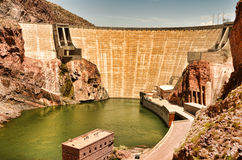 Roosevelt Dam Stock Photography