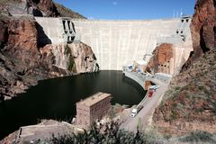 Roosevelt Dam, Arizona Royalty Free Stock Image